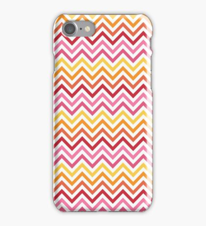 Rainbow Chevron #1 iPhone Case/Skin