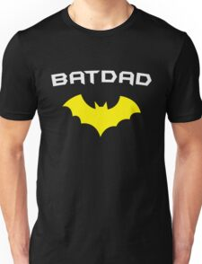 BATDAD - Proud Dad Father Super Dad Hero  Unisex T-Shirt