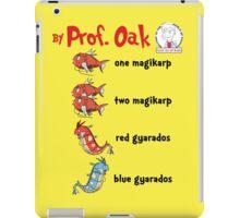 One Magikarp Two Magikarp iPad Case/Skin