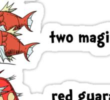 One Magikarp Two Magikarp Sticker