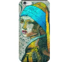 "Inspired by Vermeer's Painting of ""The Girl with the Pearl Earring"" iPhone Case/Skin"