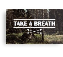 Take a breath Metal Print