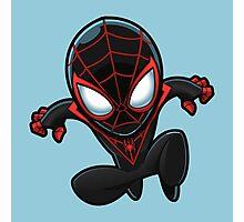 Spiderman in Black Photographic Print