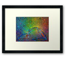 bandhasana digital - 2014 Framed Print