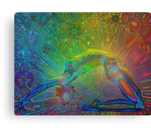 bandhasana digital - 2014 Canvas Print