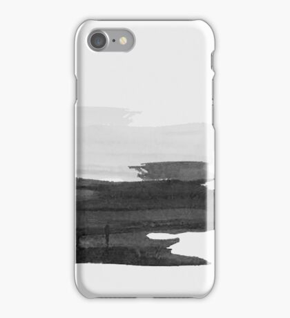 Gray and Black  iPhone Case/Skin
