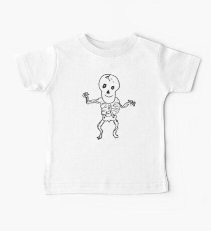 Skeleton Dance Baby Tee