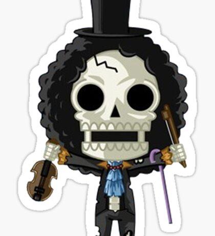 One Piece - Chibi Brook Sticker