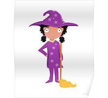 Little Lavender Witch Poster