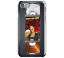 Natural Born Killers vhs case 1994 iPhone Case/Skin