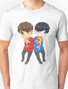 AmazingPhil and Danisnotonfire with Plushes T-Shirt