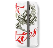 Cool Sayings T-Shirts / Tattoo 3 iPhone Wallet/Case/Skin