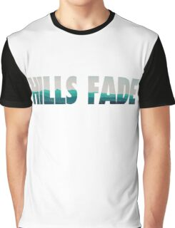 Typography Hills Fade Graphic T-Shirt