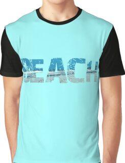 Typography Beach Graphic T-Shirt
