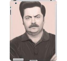 Swanson iPad Case/Skin