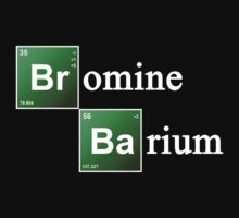 Bromine and Barium Periodic Table Chemistry Elements by TheShirtYurt