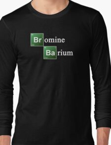 Bromine and Barium Periodic Table Chemistry Elements Long Sleeve T-Shirt