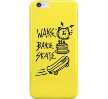 Wake Bake Skate Phone Case iPhone Case/Skin