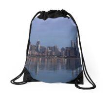 Chicago Skyline Drawstring Bag
