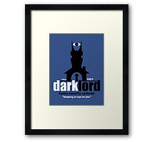 Dark Lord Home Security Systems Framed Print
