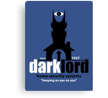 Dark Lord Home Security Systems Canvas Print