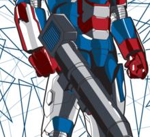 Optimus Patriot Sticker