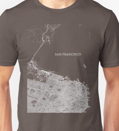 San Francisco alternate angle Unisex T-Shirt