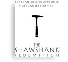 Minimalist Movie Poster - The Shawshank Redemption  Canvas Print