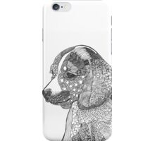 Beagle Puppy abstract iPhone Case/Skin