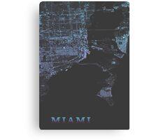 Miami, Retro special edition Canvas Print