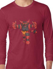 Incineroar by Derek W Long Sleeve T-Shirt