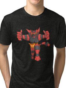 Incineroar by Derek W Tri-blend T-Shirt
