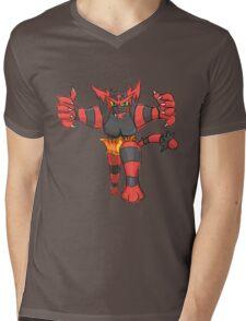 Incineroar by Derek W Mens V-Neck T-Shirt