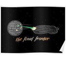 Galactica Trek Wars Poster