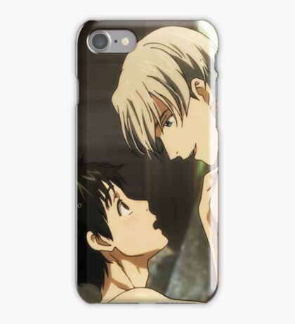 Hand Holding in the Onsen~ iPhone Case/Skin