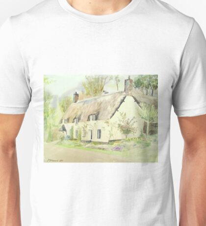 Picturesque Dunster Cottage Unisex T-Shirt