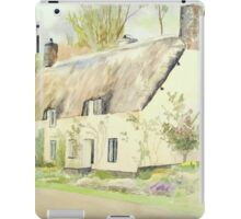 Picturesque Dunster Cottage iPad Case/Skin