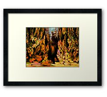 All Must Fall Framed Print