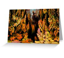 All Must Fall Greeting Card