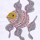 Clown fish  (original sold) by federico cortese