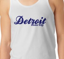 Detroit Motor city Northern Soul  Tank Top