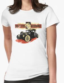 Bad Attitude Motorworks Womens Fitted T-Shirt