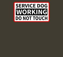 Service Dog Working Please Do Not Touch Unisex T-Shirt