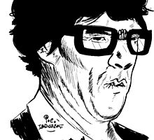 Hipster Sherlock Etch by Indigo East