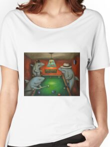 Pool Sharks Women's Relaxed Fit T-Shirt