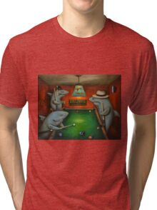 Pool Sharks Tri-blend T-Shirt