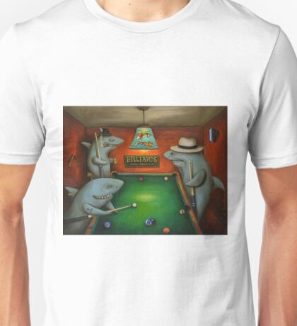 Pool Sharks Unisex T-Shirt