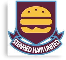 Steamed Ham United FC Canvas Print