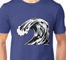 blue waves  Unisex T-Shirt