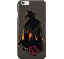 V for Vendetta 1st Version. iPhone Case/Skin